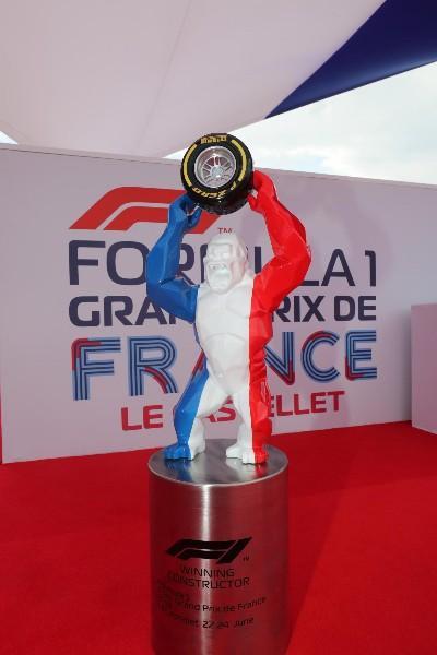 Découvrez en exclusivité le trophée du Grand Prix de France F1