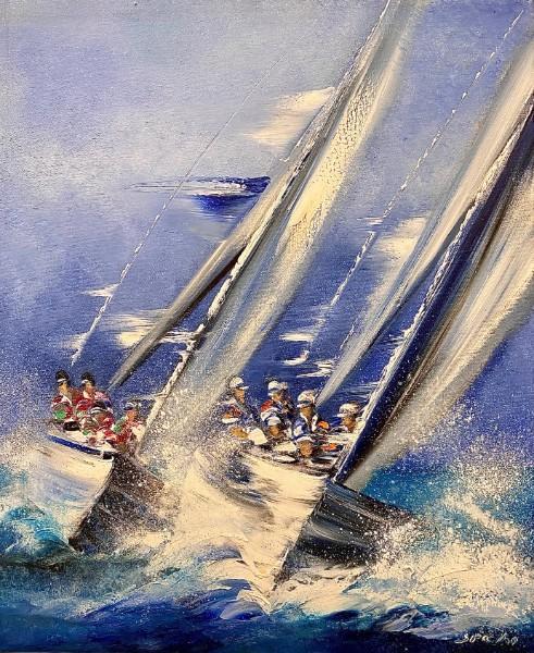 » Les voiliers»